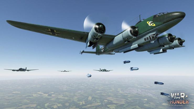 немецкие бомбардировщики вар тандер