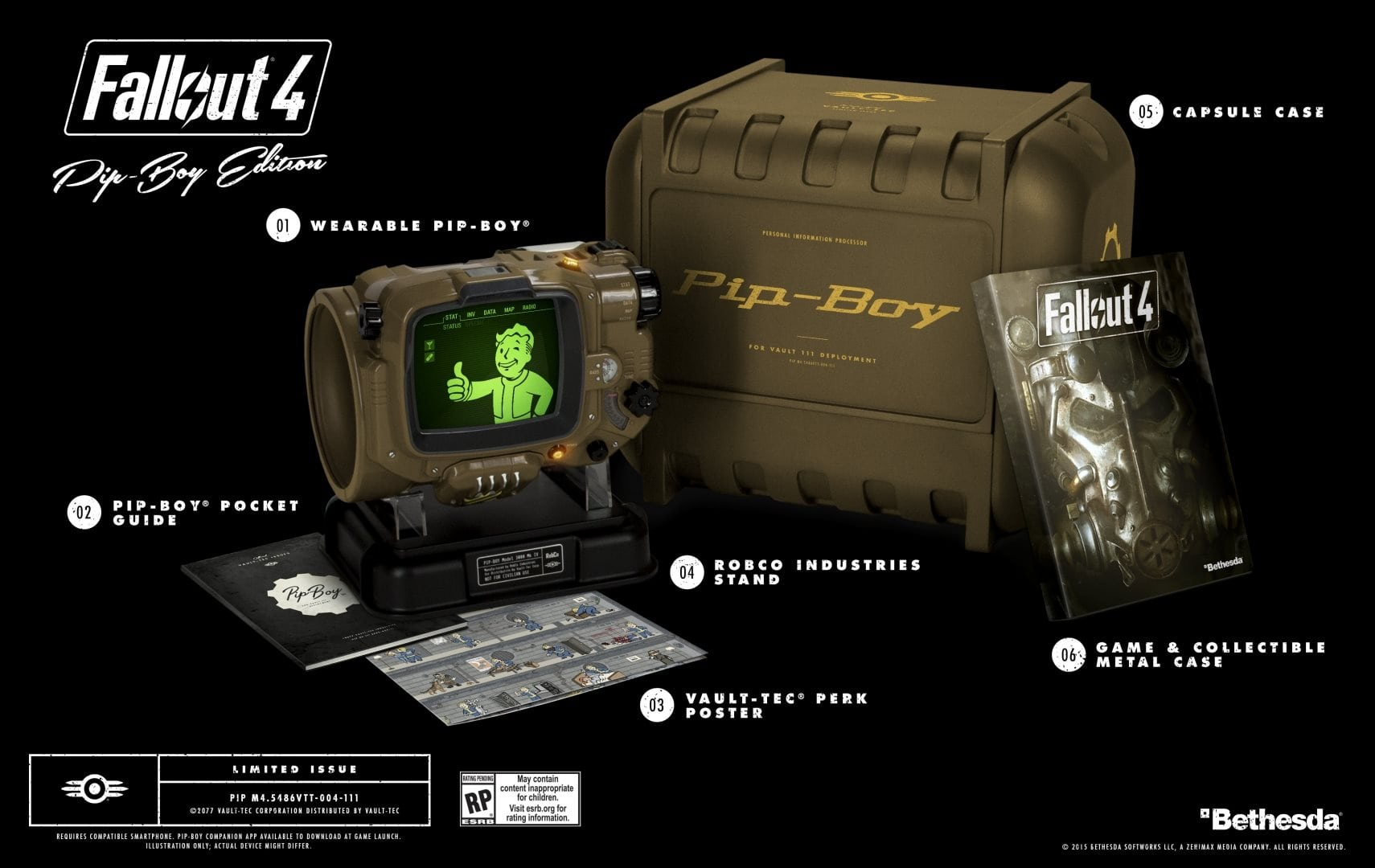 Fallout 4 Pip-boy Edition продан полностью