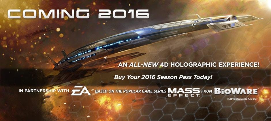 4D кино-шоу по игре Mass Effect!
