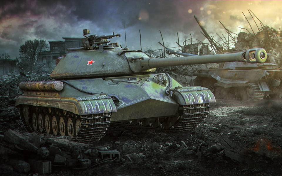 Танк ИС-5 из World of Tanks