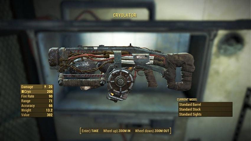 Читы и коды на оружие в Fallout 4-2