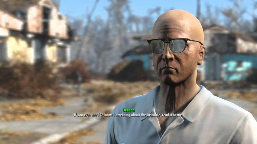 Дьякон в Fallout 4-2