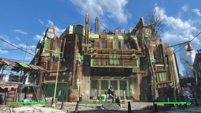 Даймонд-Сити в Fallout 4-2