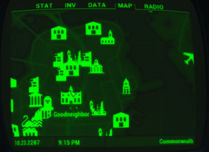 Добрососедство на карте
