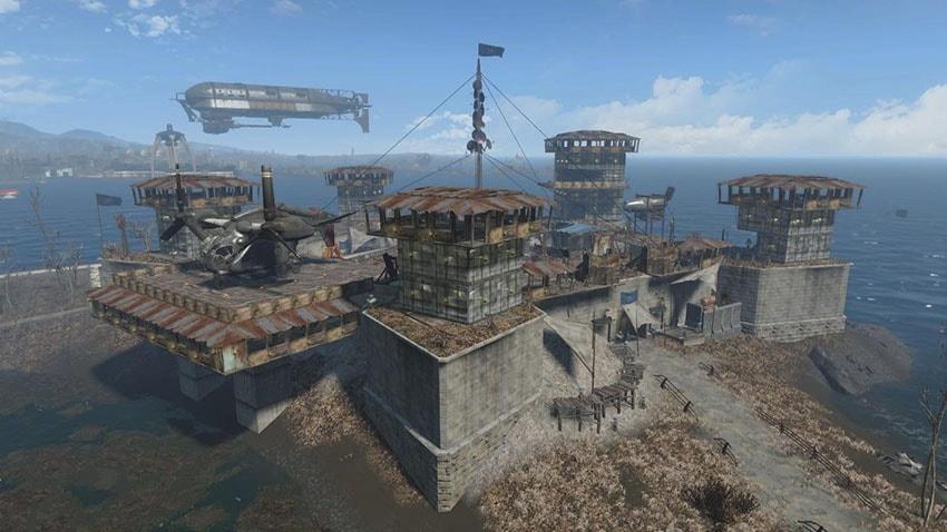 Fallout 4 строительство дома, базы, города, поселения-2