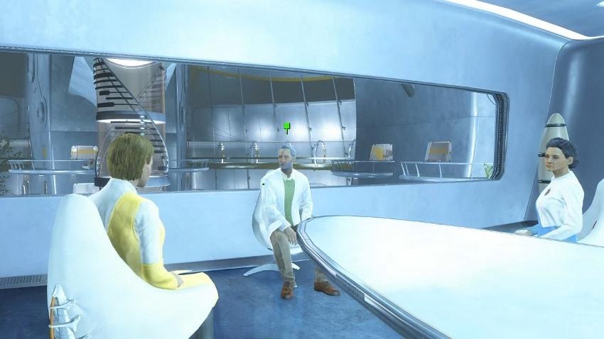 Совещание Институт в Fallout 4