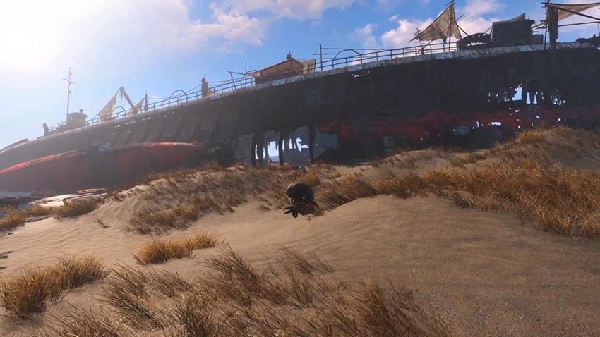 Интересные места в Fallout 4-2