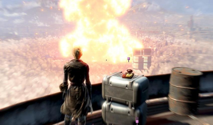 Уничтожение института в Fallout 4