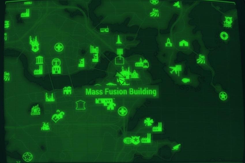 Масс фьюжн на карте