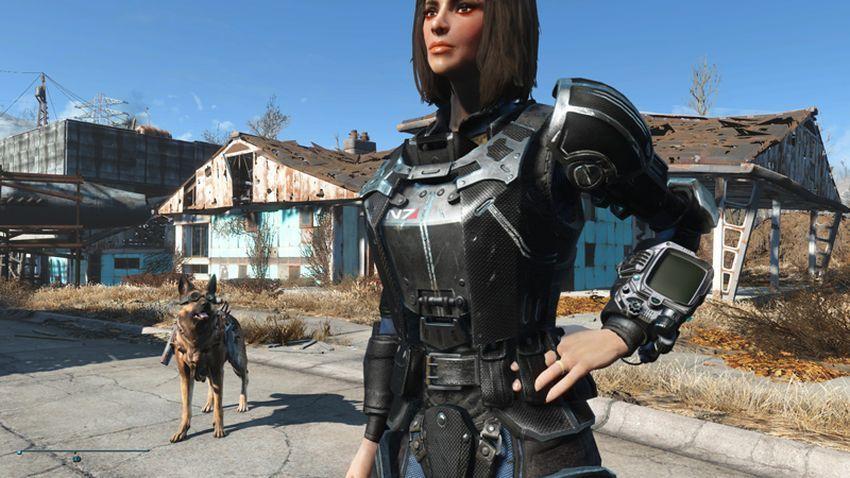 Моды на броню в Fallout 4-2