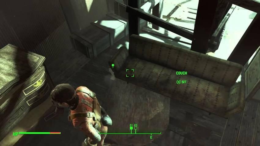 Квитанция в Fallout 4