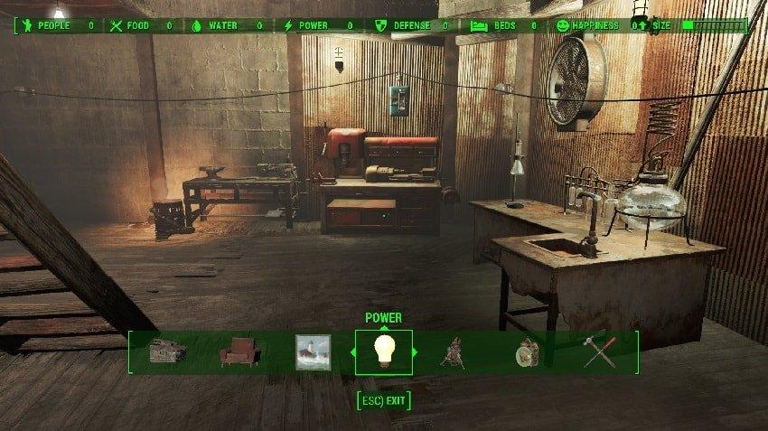 Обустройство дома Fallout 4