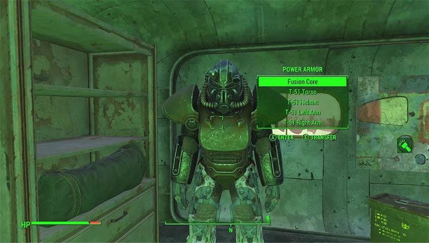 Пьезоядерная силовая броня в Fallout 4-2»