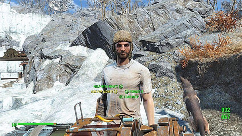 Прохождение Карьер Тикет Fallout 4-2