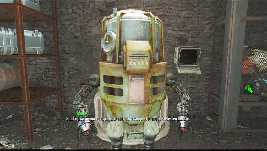 Прохождение Пивное бурление Fallout 4-2