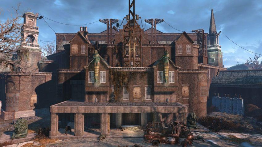 Прохождение «Тайна дома Кэботов» Fallout 4-2