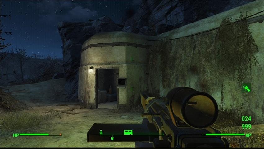 Бункер в Fallout 4