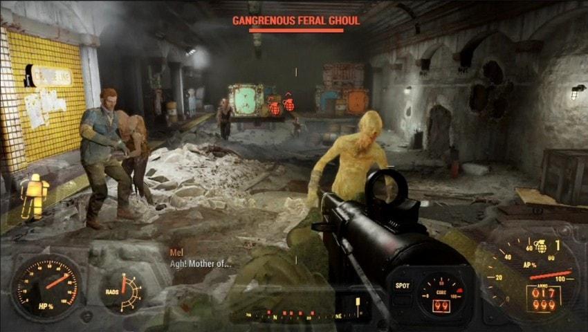 Ограбление в Fallout 4