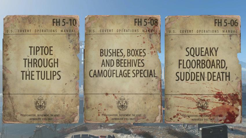 Расположение журналов в Fallout 4-4