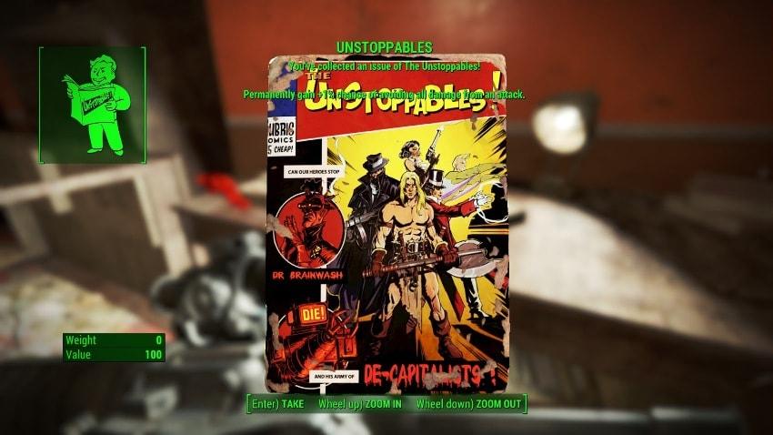 Расположение журналов в Fallout 4-9