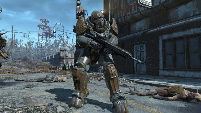 Силовая броня в Fallout 4-2