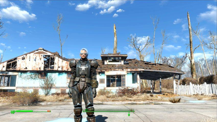 Тяжелая боевая броня в Fallout 4-2