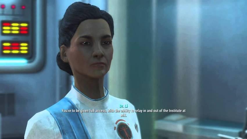 Доктор Мэдисон Ли в Fallout 4-2