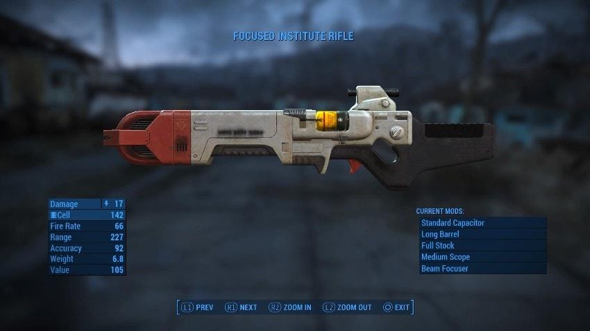 Уникальное оружие в Fallout 4-2