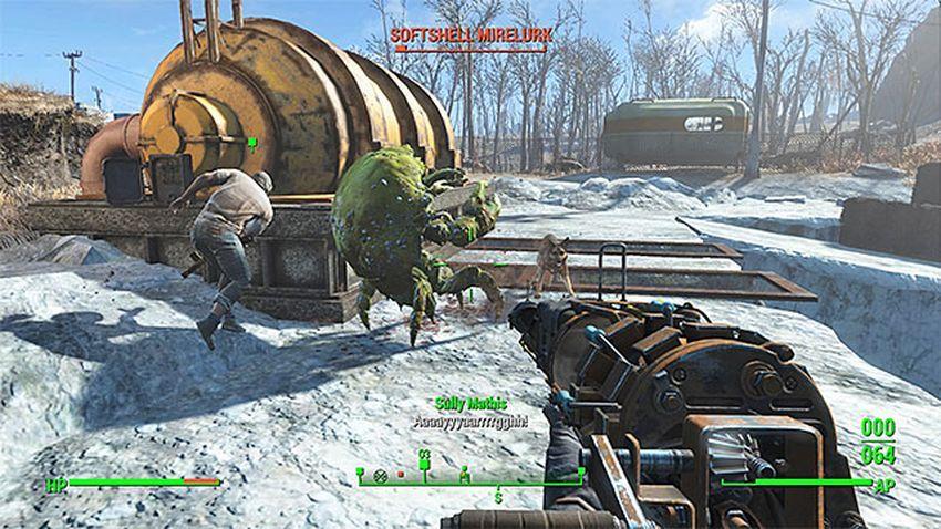 Выдернуть пробку Fallout 4