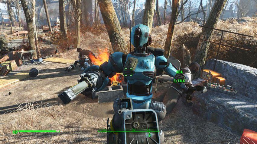Прохождение Automatron Fallout 4-2