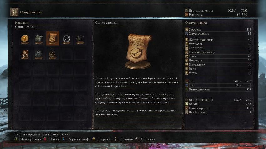Dark Souls 3 Синие Стражи-1