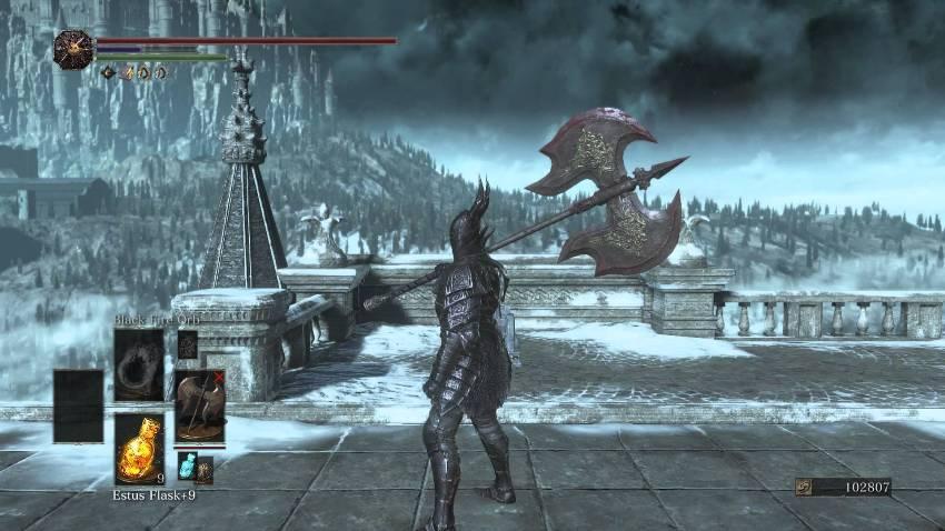 Dark Souls 3 черный рыцарь-1