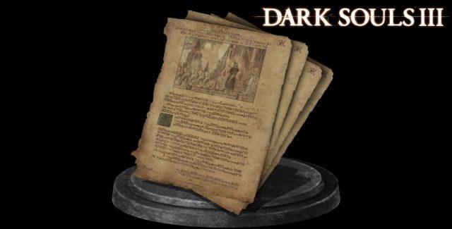 Dark Souls 3 священный фолиант-1