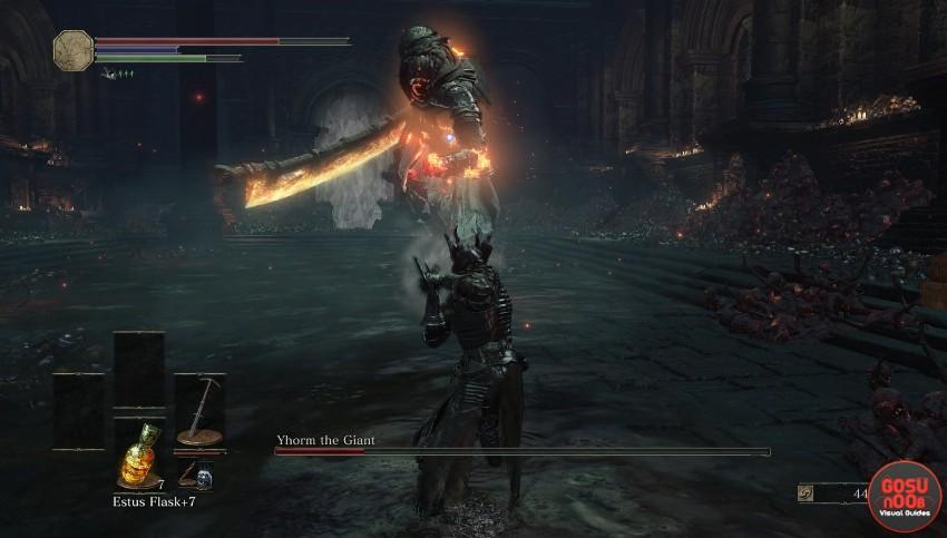 Dark Souls 3 Гигант Йорм-1