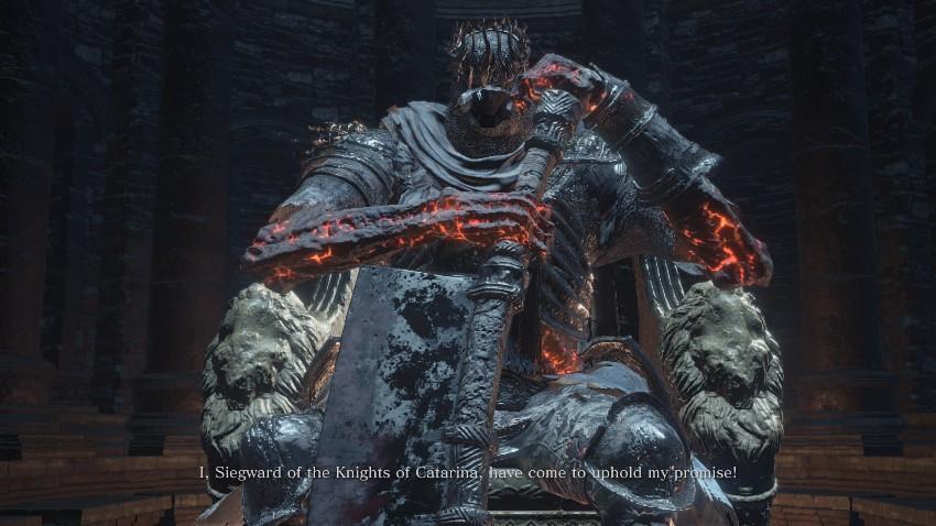 Dark Souls 3 Гигант Йорм-2