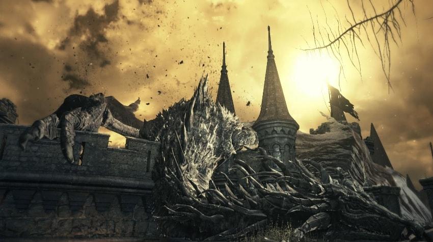 Как убить дракона в Dark Souls 3-1