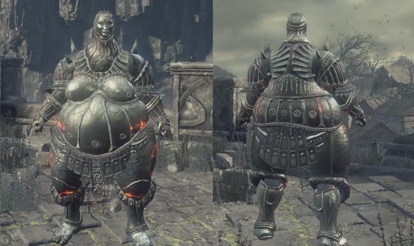 Все сеты брони в Dark Souls 3-4