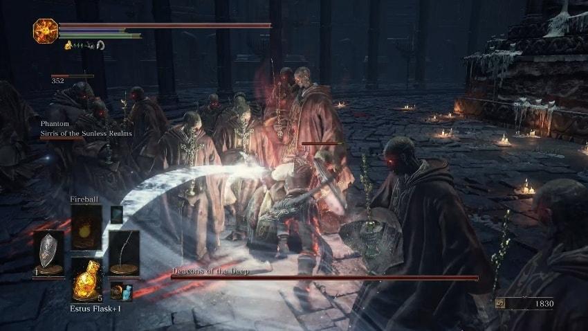 Dark Souls 3 Храм Глубин прохождение-3