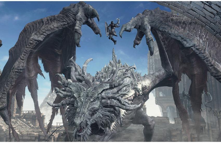 Dark Souls 3 Архидракон, Пик Древних Драконов-1