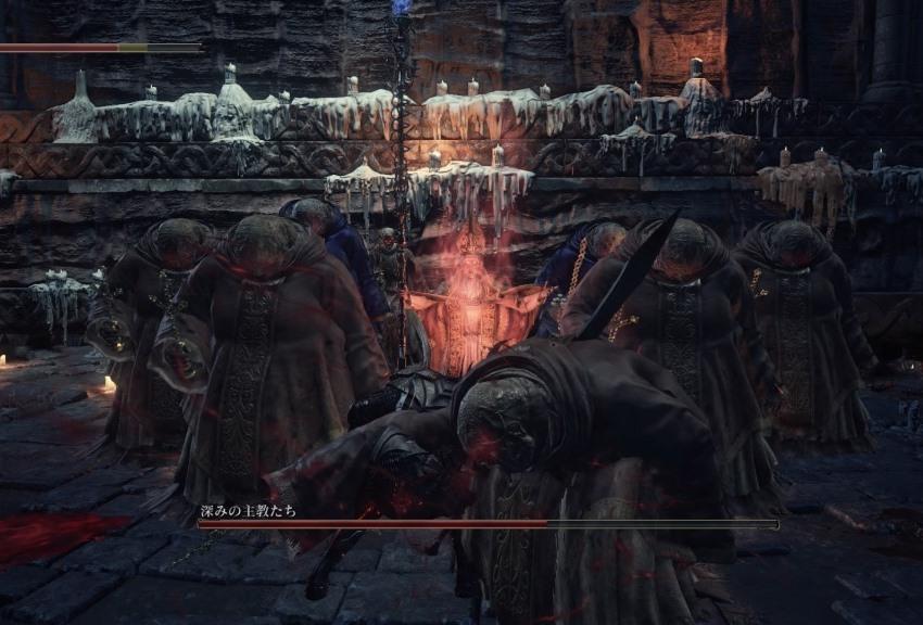 Dark Souls 3 Дьяконы глубин-2