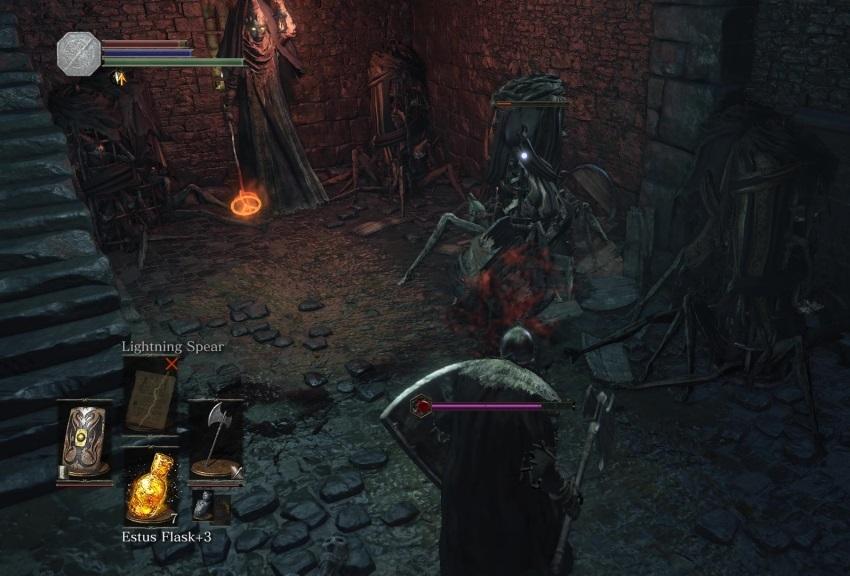 Dark Souls 3 подземелье Иритилла-1