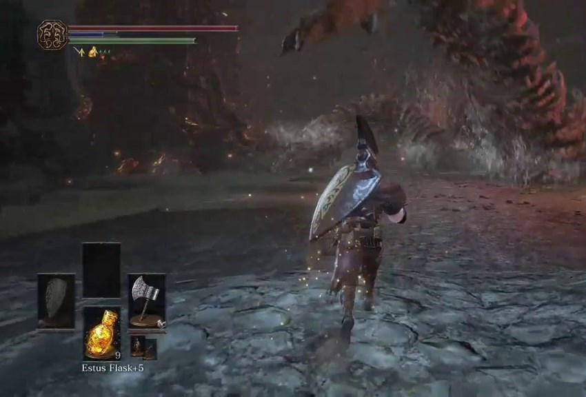 Dark Souls 3 Тлеющее озеро-1