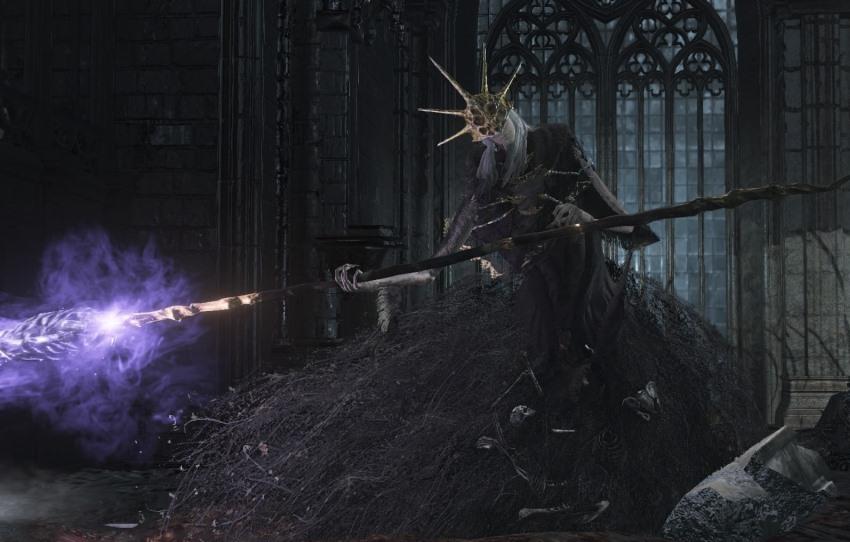 Dark Souls 3 Олдрик Пожиратель богов -2