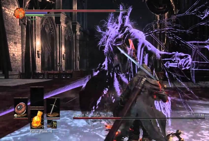 Понтифик Салливан Dark Souls 3 -2