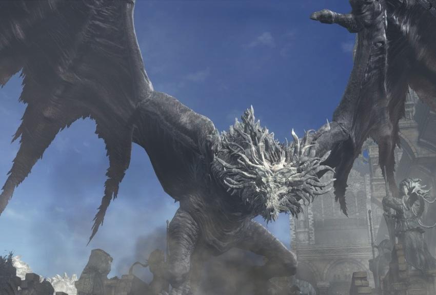 Dark Souls 3 Древняя Виверна-2