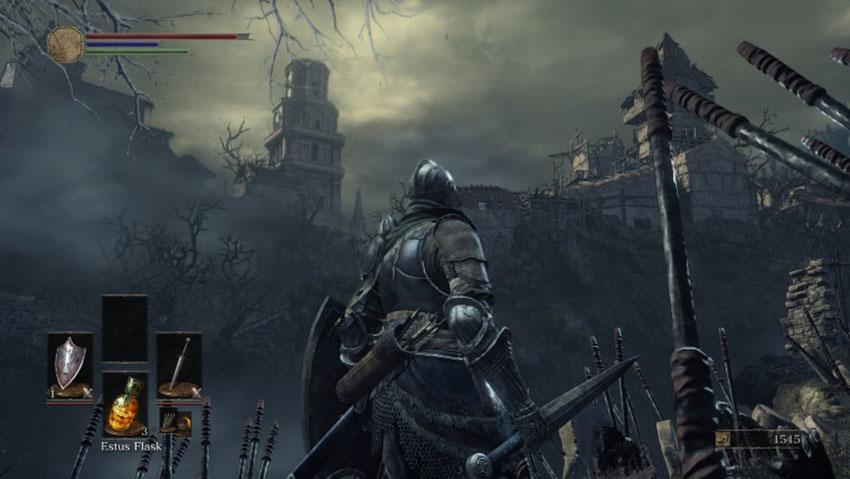 Dark Souls 3 фарм душ-3