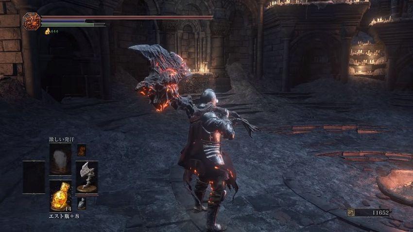 Dark Souls 3 оружие из душ-3