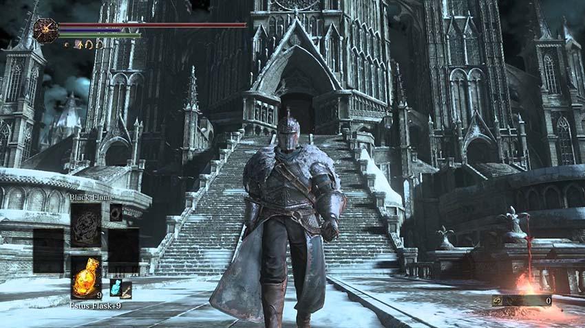 Dark Souls 3 сет Фараама, броня-2