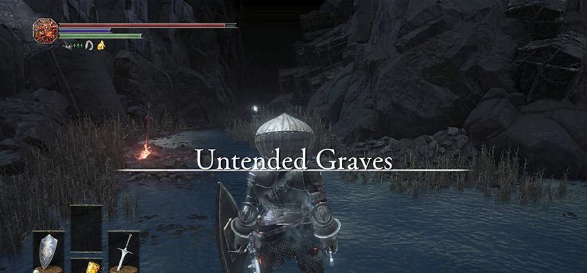 Dark Souls 3 Заброшенные могилы-3