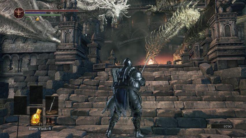 Dark Souls 3 Замок Лотрика-2